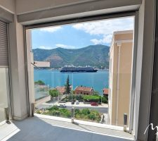 New apartment with 2 bedrooms in Dobrota
