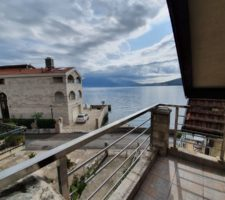 Stone furnished house on the first line in Herceg Novi