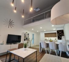 Stylish 3-bedroom apartment 300 meters from the sea