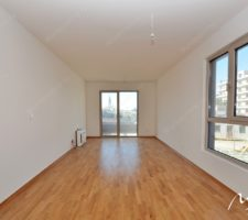 Bright and spacious apartment in a new complex in the village. Becici