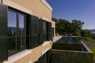 Facade and pool