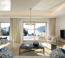Stylish, family villa with pool and panoramic views