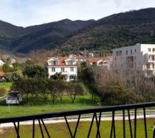 One-bedroom apartment in a new building in the center of Tivat