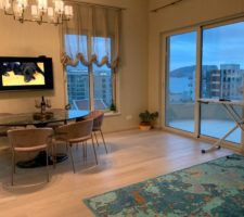 Penthouse with 2 bedrooms and beautiful sea views in Budva