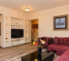 Spacious furnished apartment with 2 bedrooms in Becici