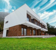 """Townhouse """"Romo"""" with 3 bedrooms and amazing sea views in Prcanj"""