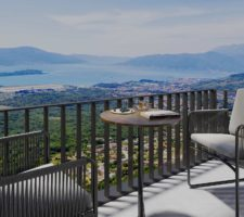 1 bedroom apartment with panoramic views in the suburbs of Tivat